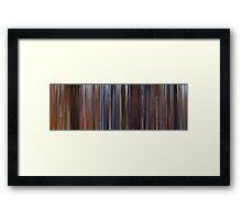 Moviebarcode: Cool Runnings (1993) Framed Print