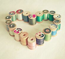 I Heart Sewing by Cassia Beck