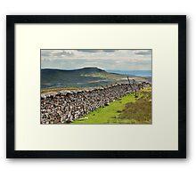 Ingleborough From Whernside Framed Print