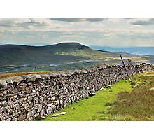 Ingleborough From Whernside Photographic Print