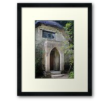 The Gothic House Framed Print