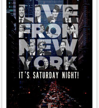 Live From New York, Saturday Night Live Sticker
