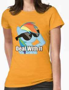Rainbow Dash Womens Fitted T-Shirt