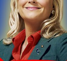 'Say Yes To Knope!', Leslie Knope - Parks & Recreation Sticker
