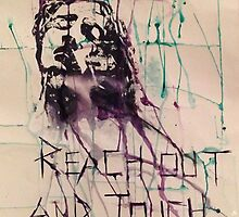 Reach Out and Touch Faith by KimGahanArt