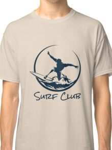 Surfer Club Print DesignTemplate Classic T-Shirt