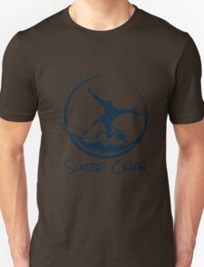 Surfer Club Print DesignTemplate Unisex T-Shirt