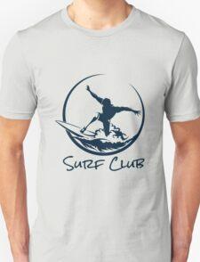 Surfer Club Print DesignTemplate T-Shirt