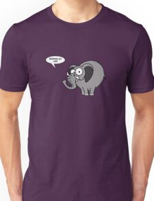 Elephants are cool! Unisex T-Shirt