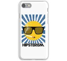 HIPSTERISM (SERIES) [blue/black] iPhone Case/Skin