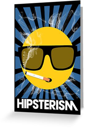 HIPSTERISM (SERIES) [blue/white] by DropBass