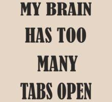 Brain Too Many Tabs Girls by yudyud1991