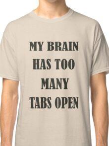 Brain Too Many Tabs Girls Classic T-Shirt