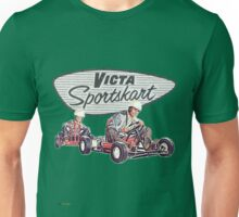 Victa Sportskart Vintage Theme Unisex T-Shirt