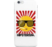 HIPSTERISM (SERIES) [red/black] iPhone Case/Skin