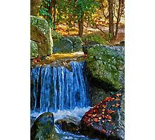 Blue Water Spring Photographic Print