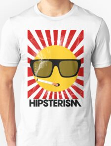 HIPSTERISM (SERIES) [red/black] Unisex T-Shirt