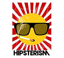 HIPSTERISM (SERIES) [red/black] Photographic Print