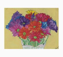 My Flowers in a Vase One Piece - Long Sleeve