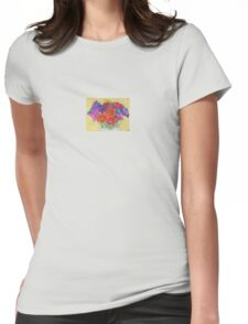 My Flowers in a Vase Womens Fitted T-Shirt