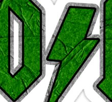 YO/HI (d) Sticker