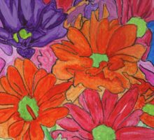 My Flowers in a Vase Sticker