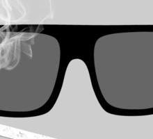 HIPSTERISM (SERIES) [black & white] Sticker