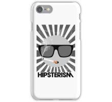 HIPSTERISM (SERIES) [black & white] iPhone Case/Skin