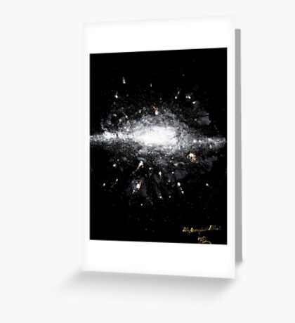 soaring deeper and deeper into the luminous.  Greeting Card