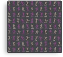 Toy Soldiers - Pattern 001 Canvas Print