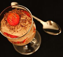 Chocolate & Strawberries by Tracy Friesen