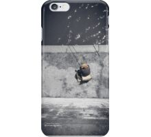 Loneliness of a fisherman iPhone Case/Skin