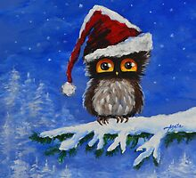 Owl be Home for Chrismas by Agata Lindquist