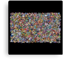 All Pokemon Are Here Canvas Print