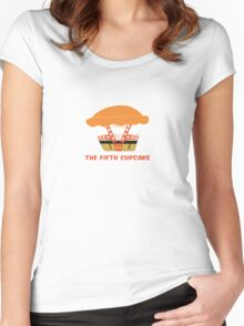 THE FIFTH CUPCAKE parody Women's Fitted Scoop T-Shirt