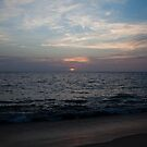 Sunset on the Arabian Sea, Kerala, India August, 2012 by jackmbernstein