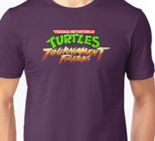 TMNT Tournament Fighters (SNES) Title Screen Unisex T-Shirt