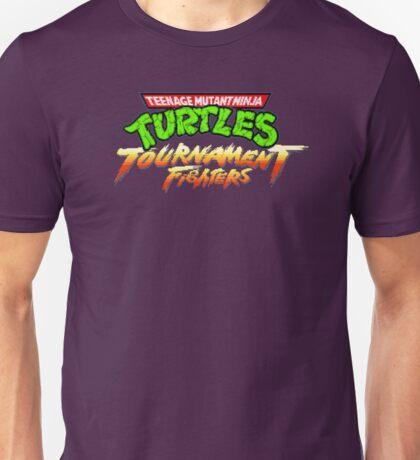 TMNT Tournament Fighters (SNES) Title Screen Unisex T-Shirt