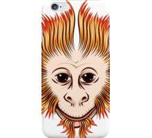 Fire Monkey Face iPhone Case/Skin