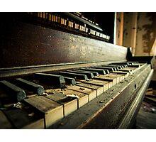 Broken Keys Photographic Print