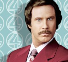 You Stay Classy San Diego, Ron Burgundy - Anchorman Sticker