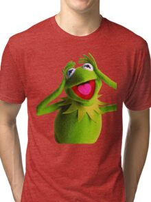 KERMIT THE FROG Tri-blend T-Shirt