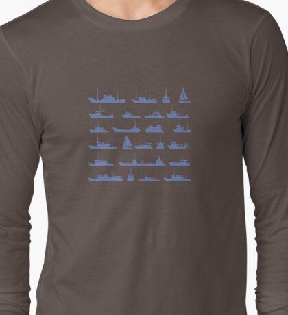 Ships set Long Sleeve T-Shirt