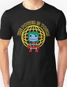 Captain Little Big Planet - Multiple Shirt Colors, Plain Text T-Shirt