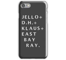 Dead Kennedys Stencil [Case and Sticker] iPhone Case/Skin