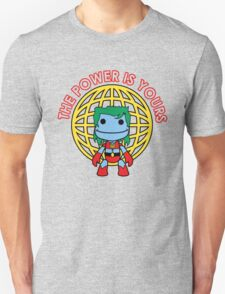 Captain Little Big Planet - Multiple Colors - Red Text T-Shirt