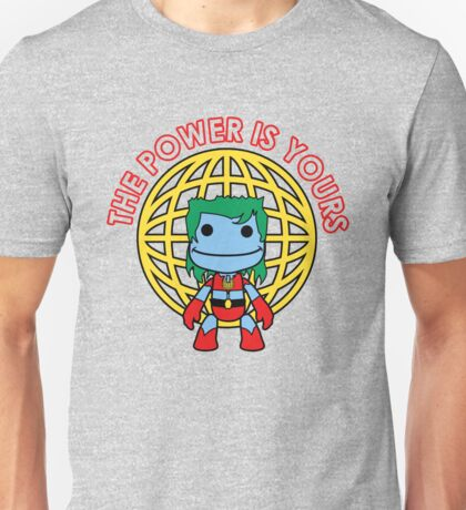 Captain Little Big Planet - Multiple Colors - Red Text Unisex T-Shirt
