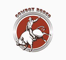 Cowboy Rodeo Emblem Unisex T-Shirt