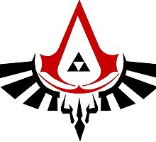 Assassin's Triforce - Creed by foxarocious