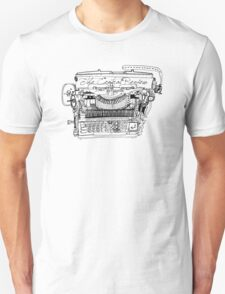 The Typewriter Review Unisex T-Shirt